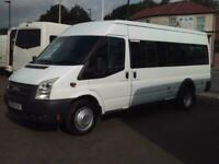 FORD TRANSIT 17 SEAT MINIBUS COIF DIGITAL TACHOGRAPH PSV LOW MILES FSH 2011