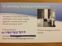 CF plumbing, heating and bathrooms