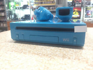 Limited Edition Blue Nintendo Wii