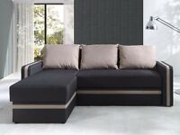 Corner Sofa Bed EUFORIA Latte SALE!