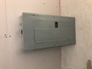 100Amp Eaton panel with all kind of circuit breakers