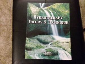 Hydrotherapy Theory and Technique