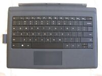 Clavier noir pour Surface Pro 3, black type cover or keyboard