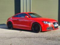 Audi TT Coupe 2.0TDI ( 170ps ) S Tronic 2014MY quattro Black Edition in Red!