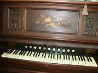 FREE   Antique Pump Organ - Circa 1890
