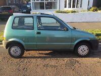 Fiat Cinquecento - Low mileage, Ideal runaround, Long MOT