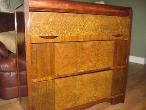 Vintage Birdseye Maple Dresser