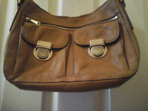 Leather Fossil bag crossover