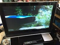 Wharfdale flat screen TV 32 inch had ready lcd