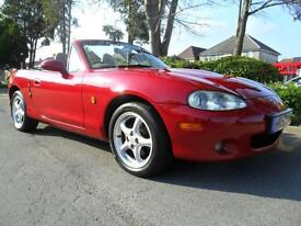 MAZDA MX5 INDIANA 1.8 2004 LTD EDN FSH INC NEW CAMBELT COMPLETE WITH M.O.T