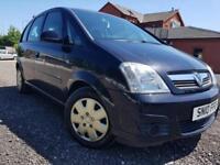 10 Plated- Vauxhall Meriva 1.4i Club Petrol 5 drs