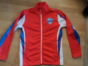 FUZION CURLING JACKET Sz. S..Signed by Randy Ferby