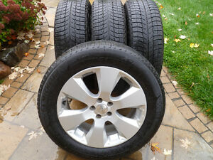 QUALITÉ- mags SUBARU Outback,Forester +225 60 17 MICHELIN X-Ice3