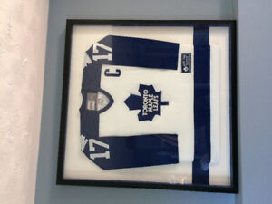 "FRAMEDWENDAL CLARK ""BANNER RAISING NIGHT"" JERYSEY. ONLY 300 MADE"