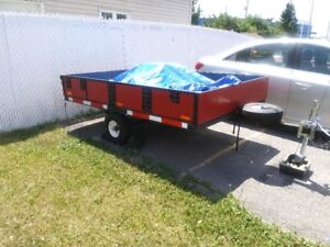 8 FT. X 6 FT. TRAILER   SIDEBOARDS  11 1/2 IN.HIGH...