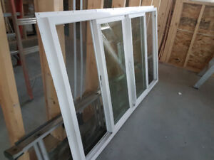 6 x 3.5 foot rough opening two slider  brand new window
