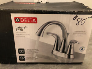 DELTA CHROME FAUCET FOR VANITY BRAND NEW IN BOX