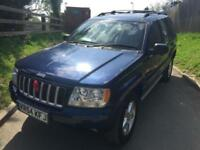Jeep Grand Cherokee Station Wagon 2.7 CRD auto Limited 54 Reg