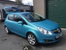 60 Corsa 1-4 SE AUTOMATIC 5 DR 38000 MILES, STUNNINGLY BEAUTIFUL £3495 P/EX CARD