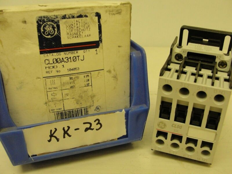 New box opened, General Electric contactor CL00A310TJ