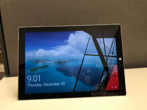 Microsoft Surface Pro 3/ 3 month warranty/ mint condition