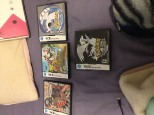 Pokemon DS Games and DSI