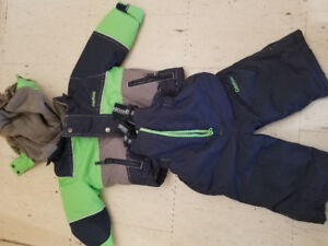 Size 12 months Boy snowsuit