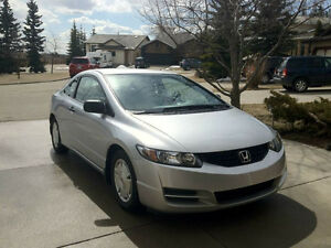 2009 Honda Civic DX-G Coupe - LOW KMS - Only 45kms