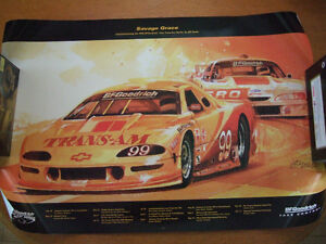 Savage Grace by Bill Neale (Trans-Am Racing Poster)