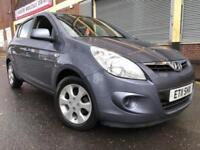 Hyundai i20 2011 1.2 Comfort 5 door FSH, 1 OWNER, 6 MONTH WARRANTY, LOW MILES