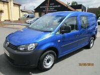 VW Caddy Maxi C20 TDI KOMBI Crew Van Diesel Van Only 20,000 Miles