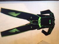 Youth Nike Compression Top & Under Armour Pants