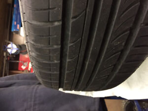 215/65R16 All Season Tires on Steel Rims