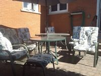 12 piece patio set with cushions