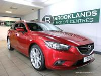 Mazda 6 2.2 TOURER SPORT 175PS [SAT NAV, LEATHER, HEATED SEATS, BOSE SPEAKERS an