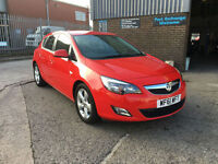 2011 61 VAUXHALL ASTRA 2.0CDTi SRI 16V AUTOMATIC 165ps 5 DOOR ONLY 18000 MILES