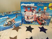 Playmobil sets brand new unopened toys Xmas gift