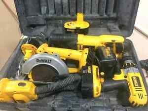 Dewalt 4 pcs XRP  kit