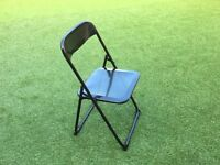 Folding chairs x 4 - £10 each