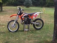 Low hour 2012 Sx 250 mint well maintained