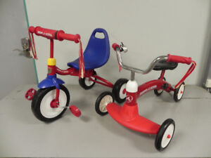 2 Radio Flyer Children's Tricycles