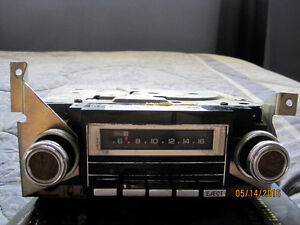 Antique GM 8 track Stereo Radios