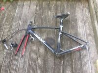 Giant Defy road bike frame and parts. 52cm