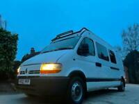 Renault Master High Roof Base Van Camper Conversion Ex Forces