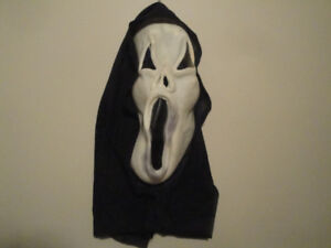 HALLOWEEN ACCESSORIES - SCREAM MASK, WITCH'S WIG OR HAT