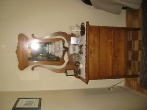 antique dresser, antique washstand