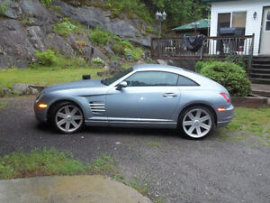 2004 Chrysler Crossfire bleu Coupé (2 portes)