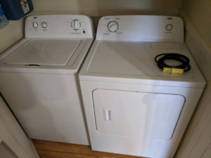 Working washer and not working dryer $200 OBO