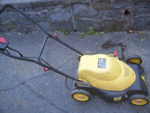 "19"" electric lawn mower"