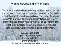 Winter Survival Skills Workshop